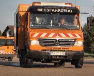 Frontbild Messfahrzeug SKM